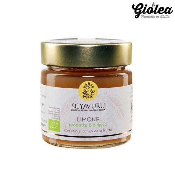 Bio Zitronenmarmelade - Bio Marmellata Limone 250g – Scyavuru