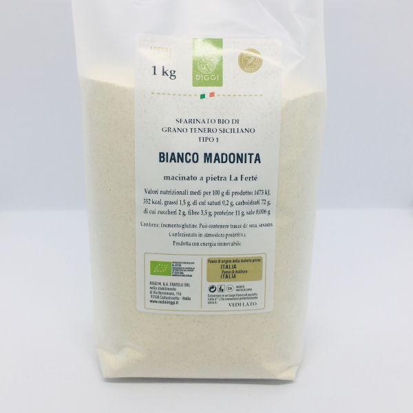 Bio Weichweizenmehl Bianco Madonita di grano tenero siciliano - Molini Riggi