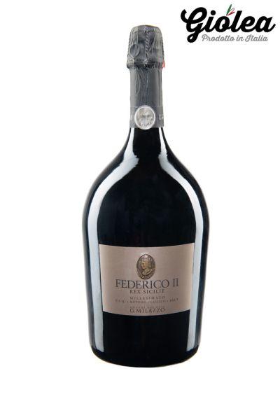 FEDERICO II Millesimato 2011 - Brut Schaumwein 1,5 l. Magnum Flasche