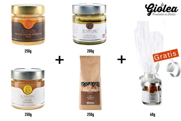 San Valentino Geschenkpaket - Frühstück im Bett - Giolea