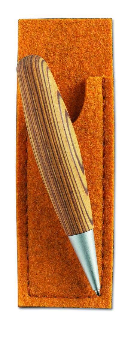 move kugelschreiber aus zebrano holz giolea f r die italienische momente im leben. Black Bedroom Furniture Sets. Home Design Ideas