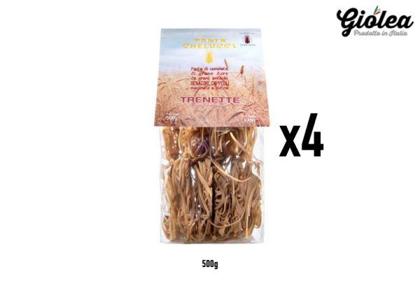 Vorratspack 4x500g Trenette Senatore Cappelli Pasta Chelucci
