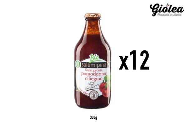 Vorratspack 12x330g BIO Salsa di Pomodorino Ciliegino - Salemipina