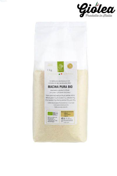 Bio Hartweizen Vollkornmehl aus Italien Macina Pura Bio - Molini Riggi 1 x 1 Kg
