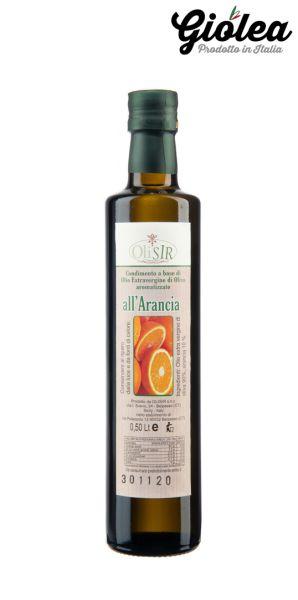 Extra natives Olivenöl mit 10 % Orange - Olisir s.n.c.