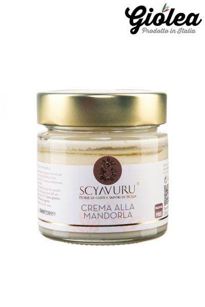 Mandelcreme aus Sizilien - Ohne Palmöl 200g - Scyavuru