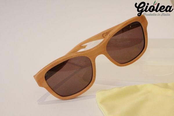 Sonnenbrille aus Olivenholz Martina