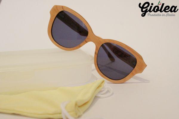 Sonnenbrille aus Olivenholz Giulia