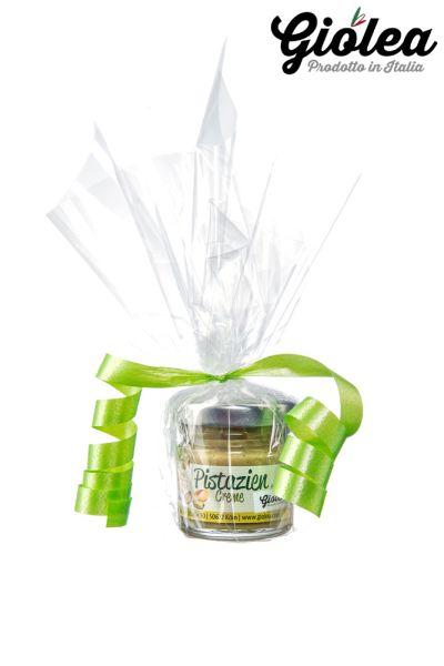 Pistaziencreme ohne Palmöl 40g als kleines Geschenk - Giolea