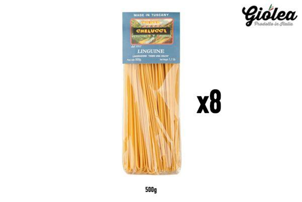 Vorratspack 8x500g Linguine Pasta Chelucci