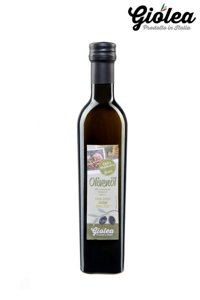 "Extra natives Olivenöl aus Sizilien ""dalla Mamma"""