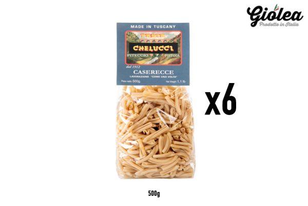 Vorratspack 6x500g Caserecce Pasta Chelucci