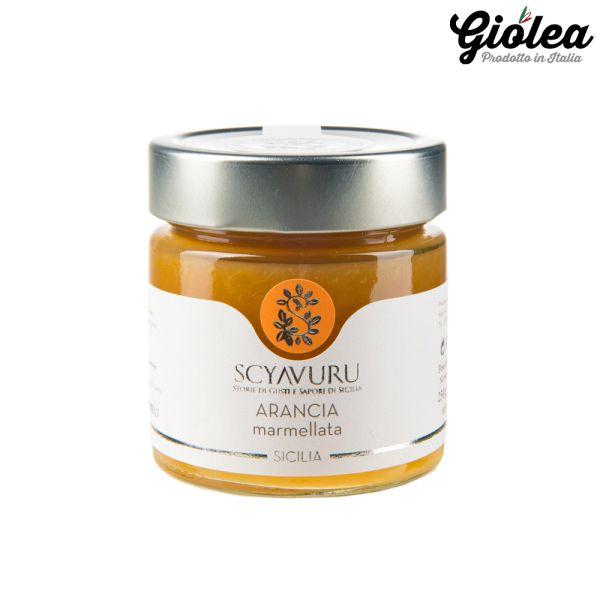 Orangen Marmelade aus Sizilien 250g - Scyavuru