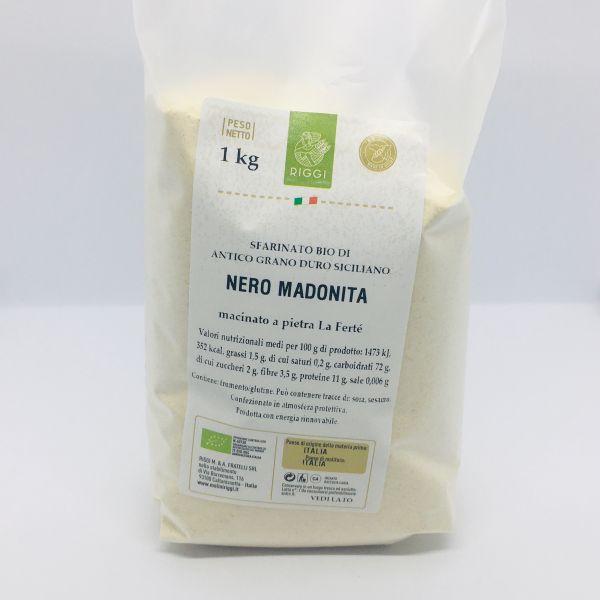 Bio Hartweizenmehl Nero Madonita di grano duro siciliano - Molini Riggi