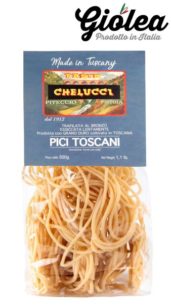 Pici Toscani 500g Packung - Pasta Chelucci