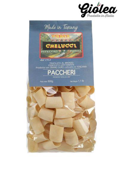 Paccheri Nudeln - Pasta Chelucci aus Italien 500g