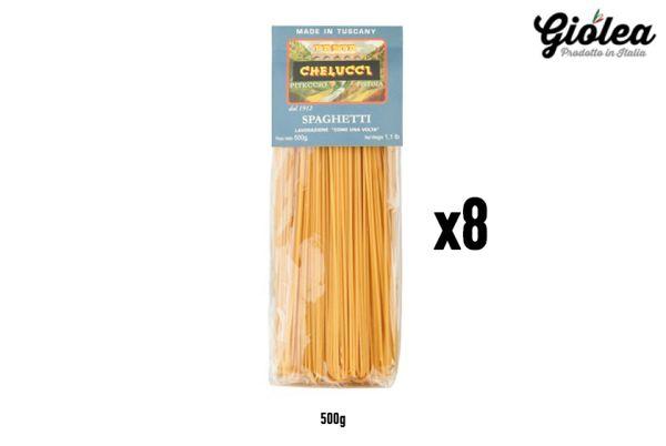 Vorratspack 8x500g Spaghetti Pasta Chelucci