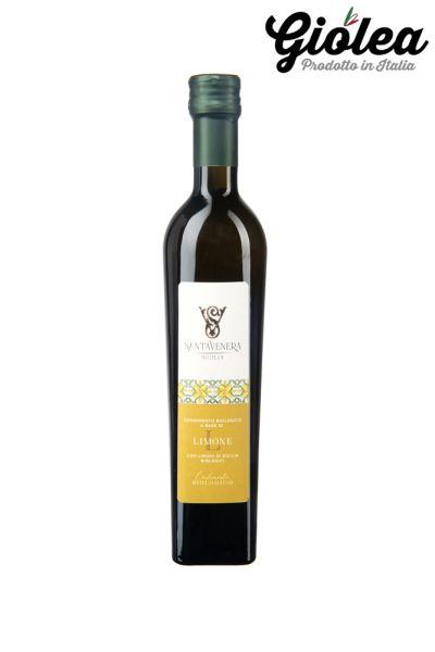 Extra natives Olivenöl al Limone (mit Zitrone) - Santa Venera Besi