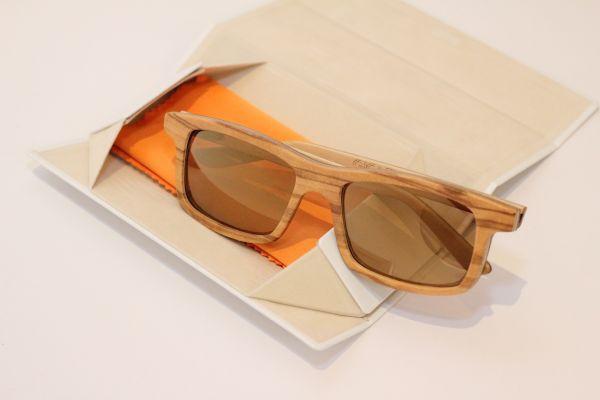 Sonnenbrille aus Olivenholz Nicolo